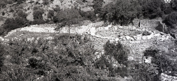 83-11-036 Samothrace, sanctuary: view from sanctuary N to sea