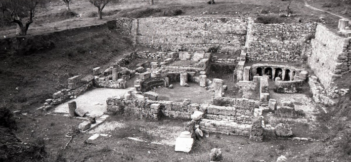 86-06-018 Gortys, Baths, general view of remains