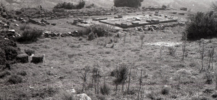 86-11-018 Lepreon, temple of Demeter, general view