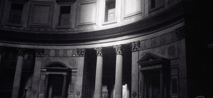 88-18-008 Rome, Pantheon,views of various levels of the interior of the drum, from various angles
